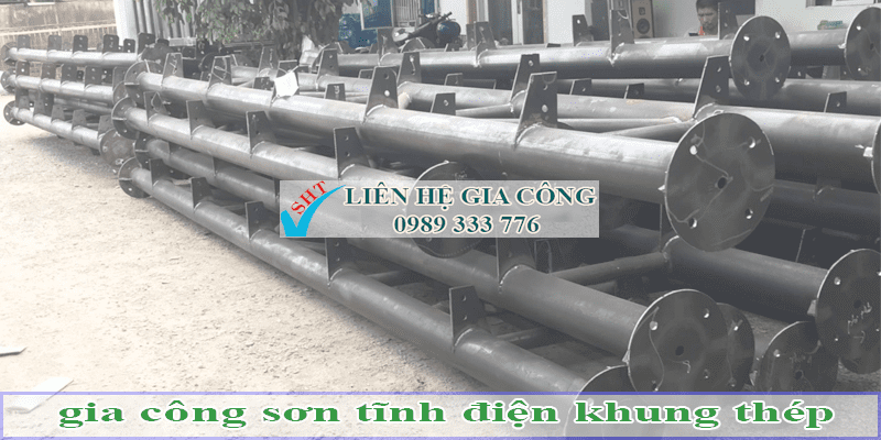 cong nghe son tinh dien trong cong nghiep
